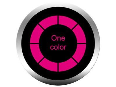 1 color gobos
