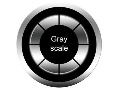 grayscale gobos