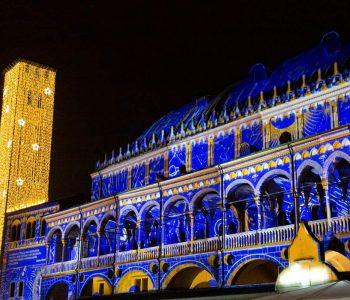 Mapping Natalizio Palazzo della Ragione Padova