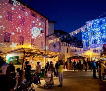Proiezione dinamica mercatini di Natale