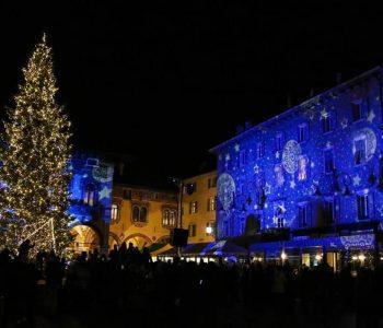 Proiezione di Natale a Rovereto
